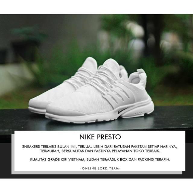 Diskon! Nike Air Presto Grade Ori Vietnam e57750583e