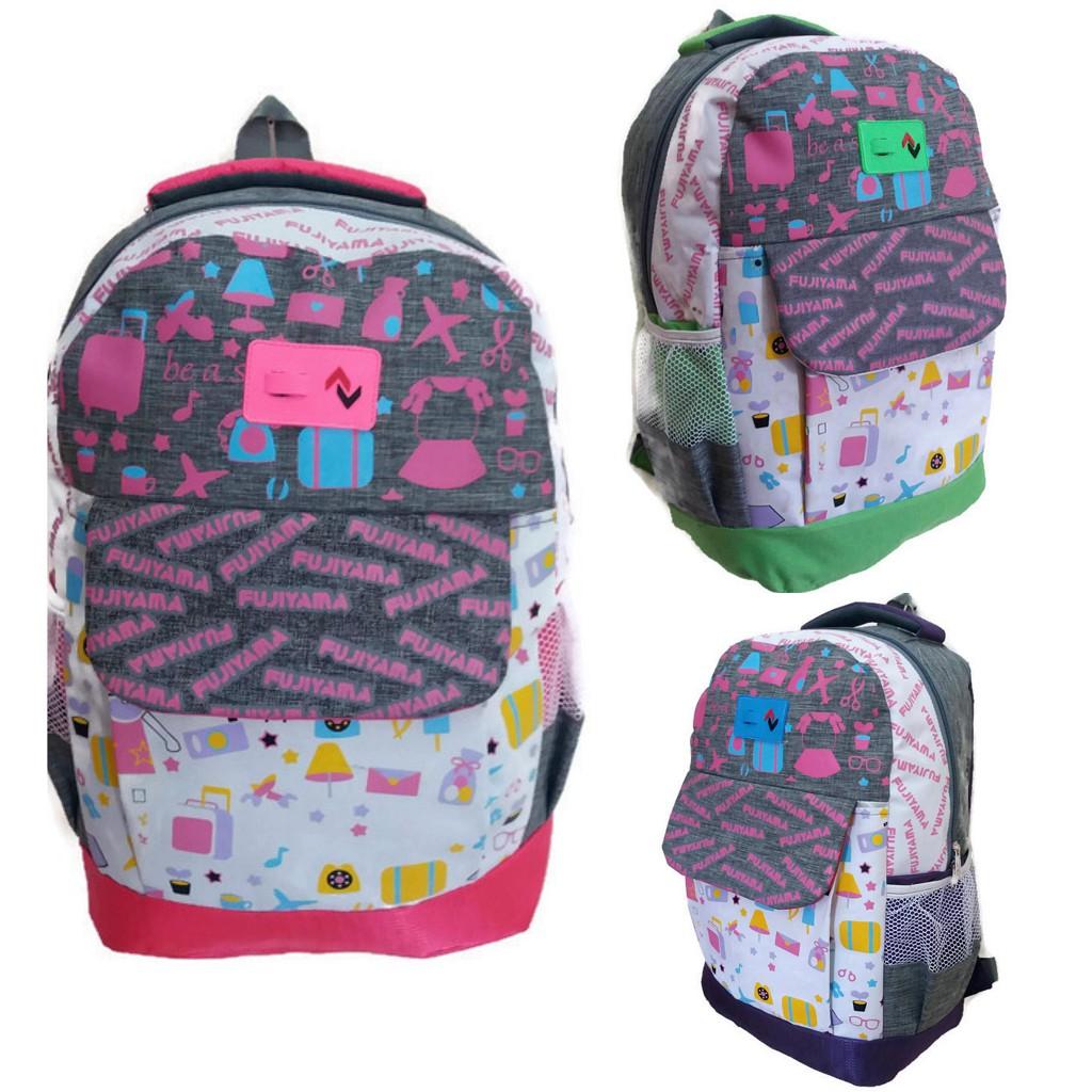 Tas Ransel Punggung Backpack Anak We Bare Bears Panda Merah Biru Kuning Miniso Original Best Seller | Shopee Indonesia