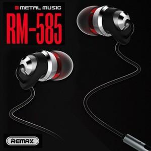 Original REMAX Handsfree RM-585 Metal Touching Earphone