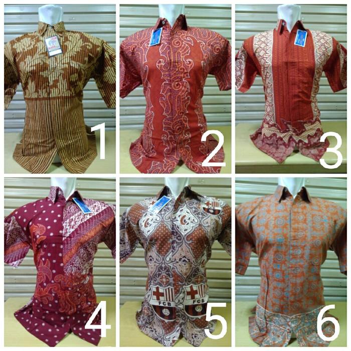 Hem Baju Kemeja Pakaian Batik Pria Obral Ika Fashion Tanah Abang Murah High  Quality  6fa8b32fc2