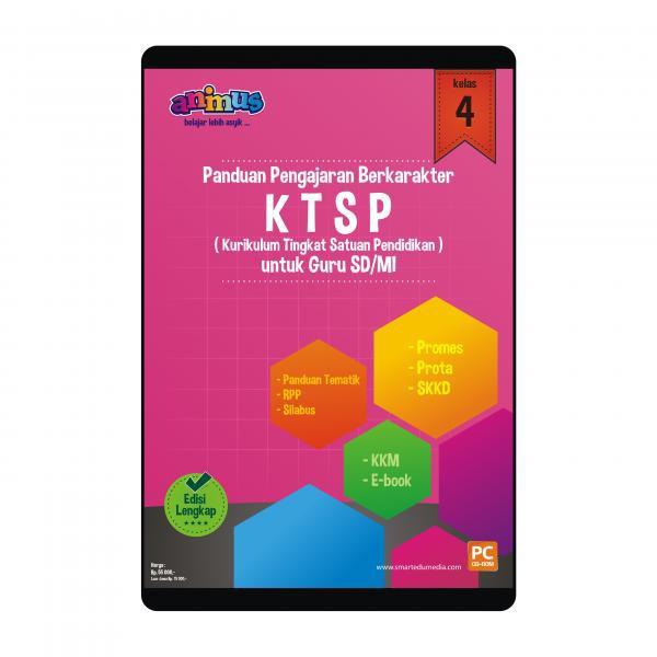 Animus Rpp Kelas 4 Ktsp Untuk Guru Sd Mi Smartedu Shopee Indonesia