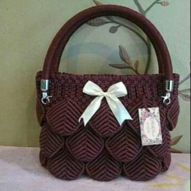 Tas Talikur Tas Selempang Tas Talikur Tas Talikur Handmade Tas Talikur Tas Cantik Shopee Indonesia
