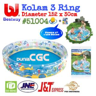 Bestway 51004 Kolam Renang Anak 3 Ring 152x30cm Dive Pool Sni