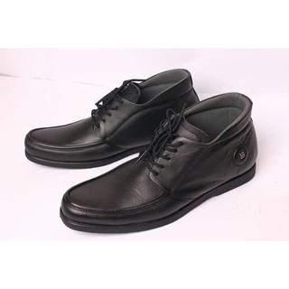 9c5baf3e32b2d Boston Galia Black / Sepatu Kulit Kambing Asli Untuk Formal / Kantor ...