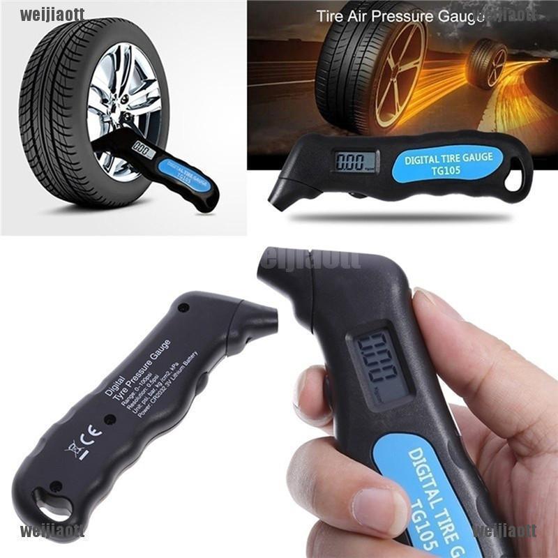 NEW Car Tire Depth Gauge Tester Color Tyre Metric Gage Motors Measures Tool