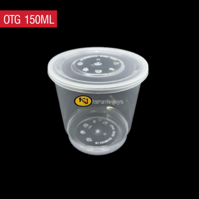 Cup Merpati / Cup Puding Jelly 150ML / Cup OTG 150ml