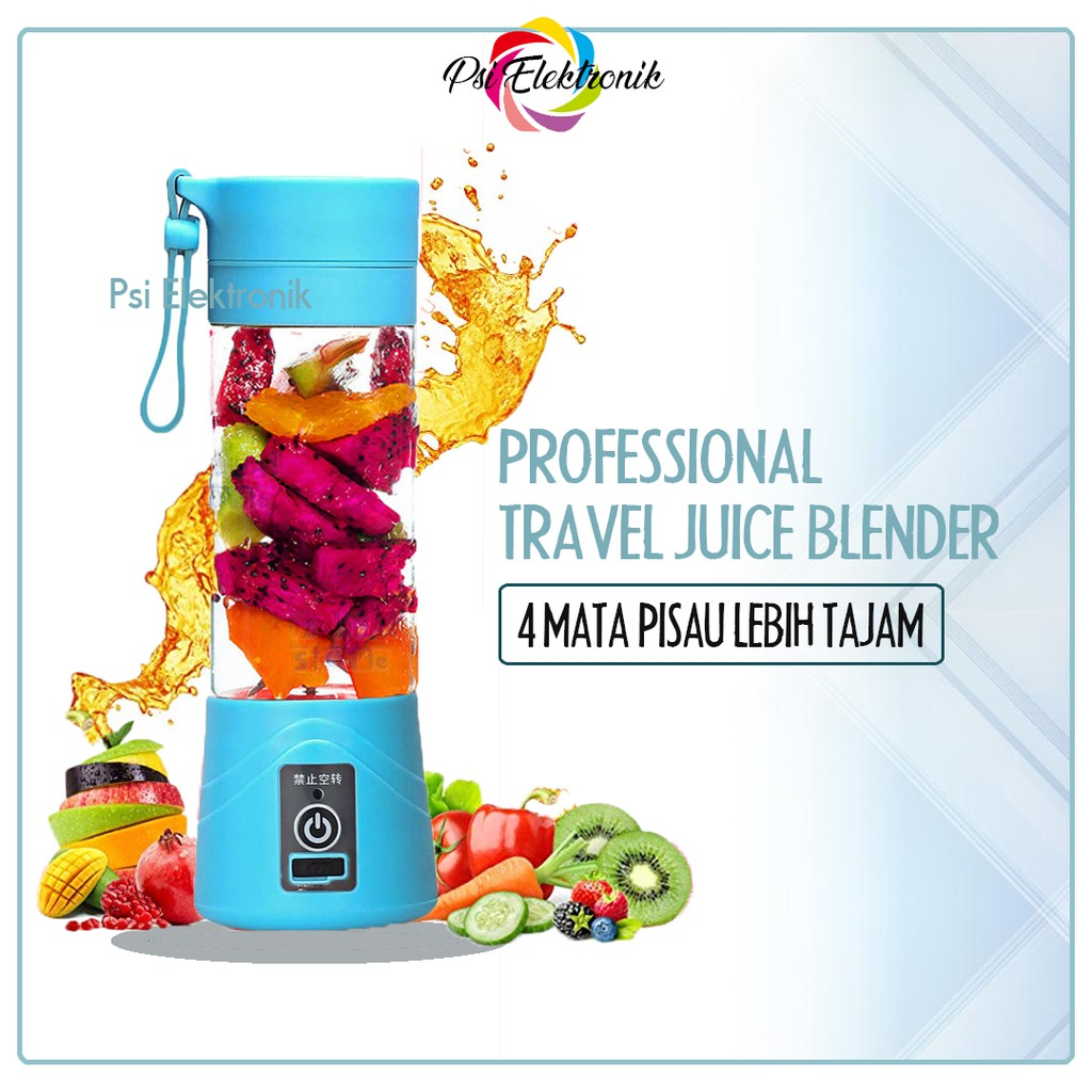 MINI PORTABLE BLENDER JUICE / USB BLENDER ORIGINAL MURAH KUALITAS IMPORT