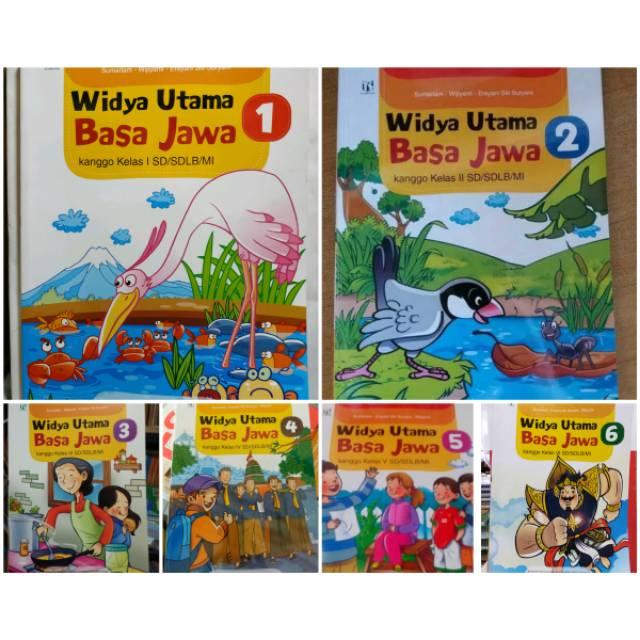 Widya Utama Basa Jawa Sd Kelas 1 2 3 4 5 6 Kurikulum 2013 Mulok Jateng Tiga Serangkai Shopee Indonesia