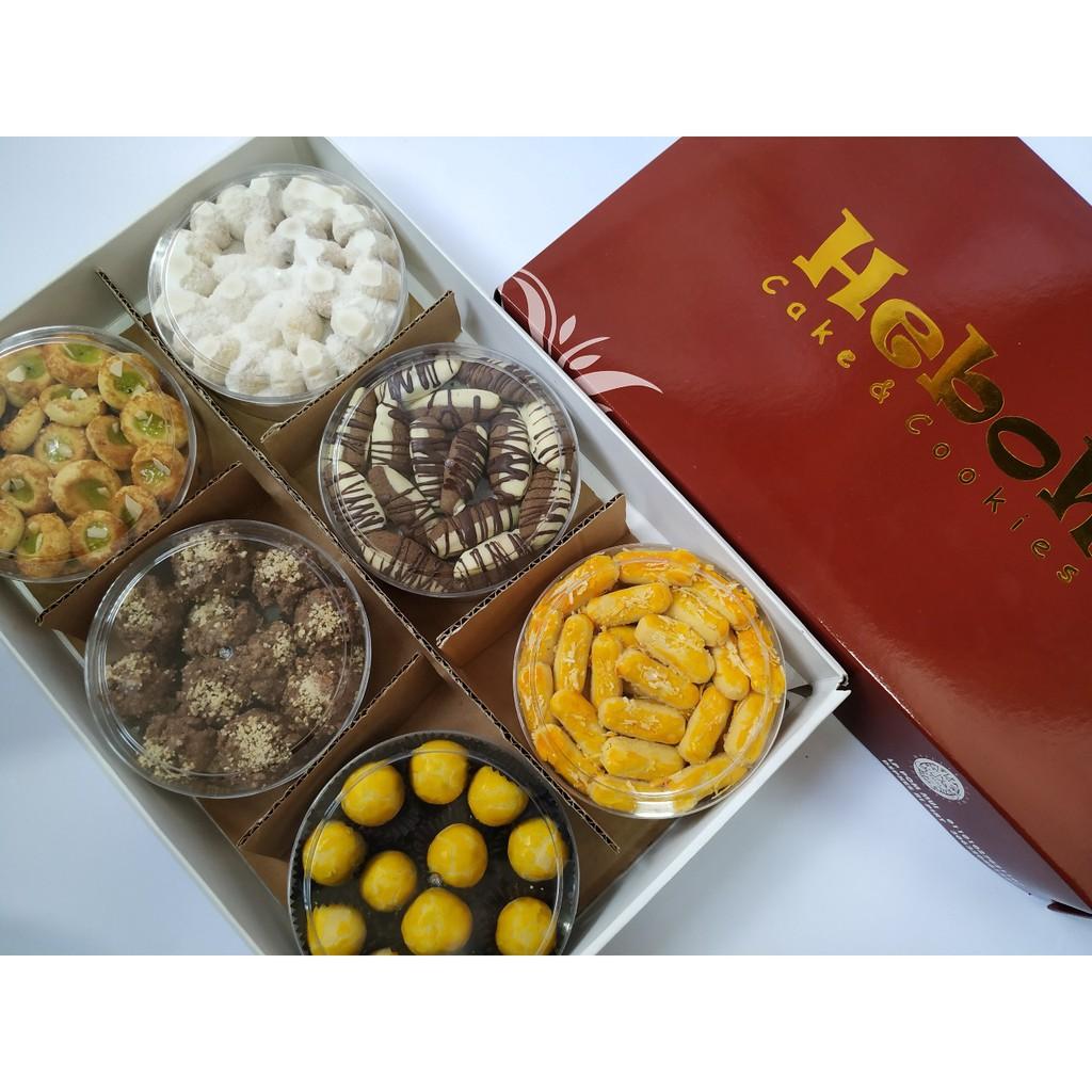 Paket 21 Kue Kering Lebaran Premium Isi 6 Toples By Heboh Cookies Shopee Indonesia