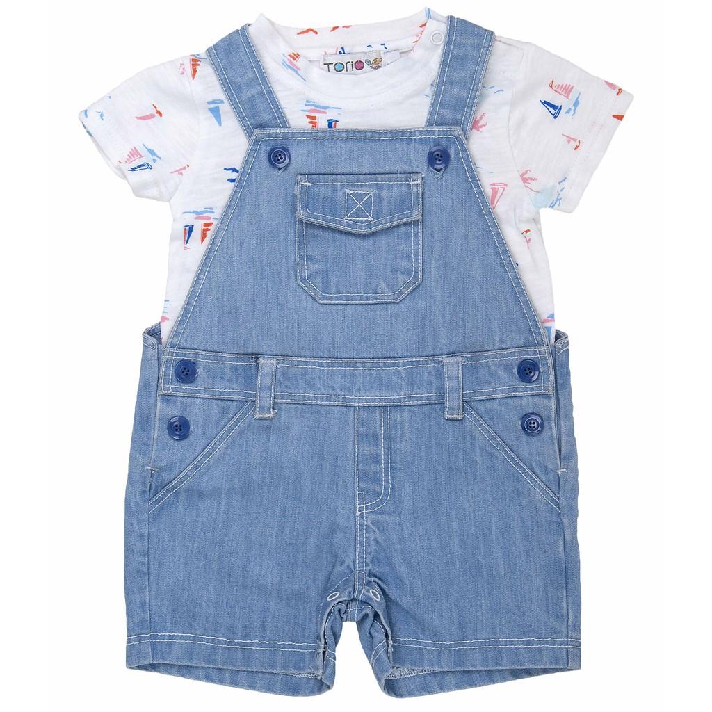 Baju Anak Laki Torio Basic French Blue Woven Shirt Shopee Celana Kids Rock Bermuda Denim 3 4 Y Indonesia