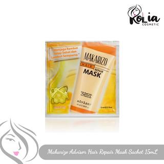 Makarizo Advisor Hair Repair Mask Sachet 15ml Shopee Indonesia