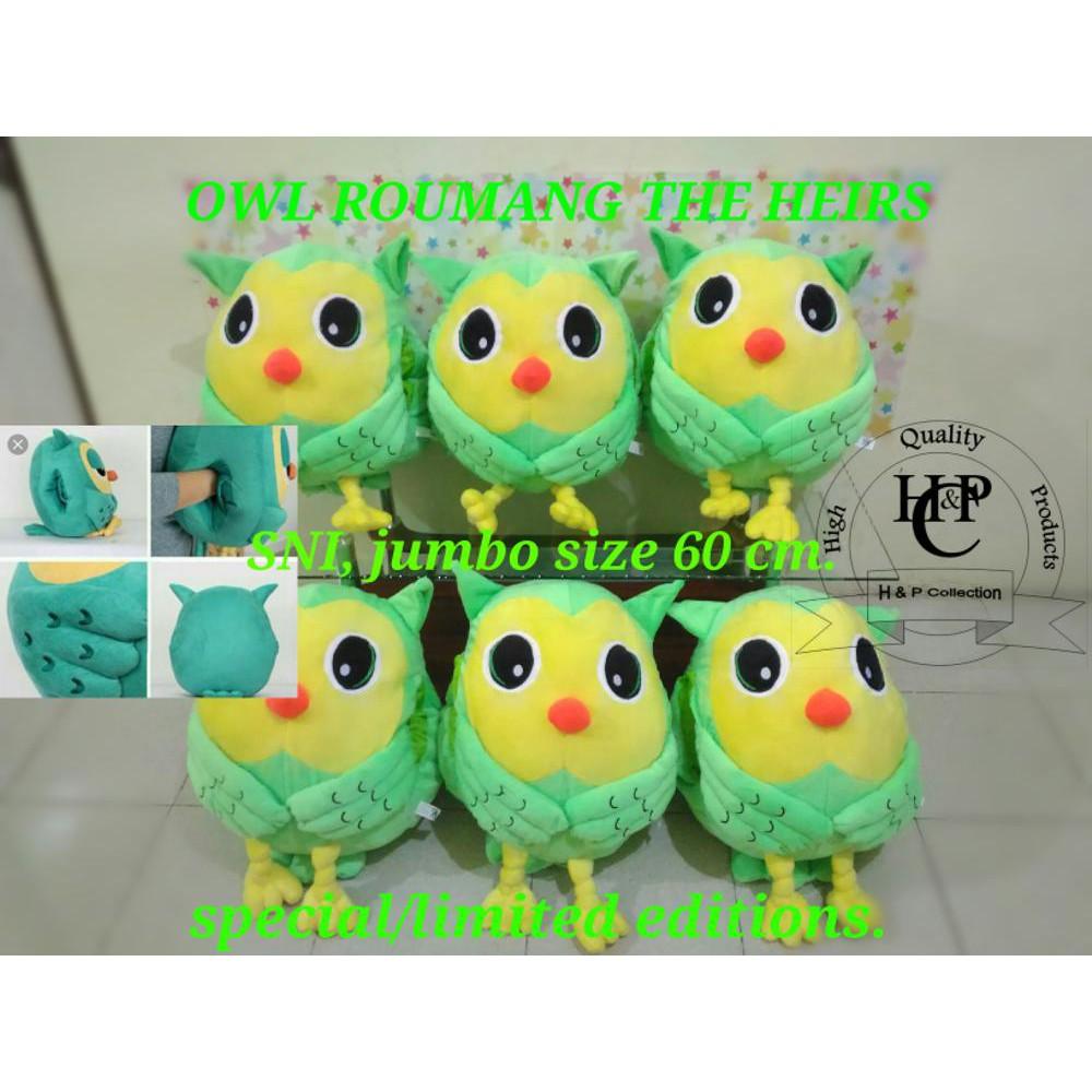 Promo Boneka Owl Roumang FilmThe Heirs Jumbo 50cm by Seulgi Limited ... 799946b422
