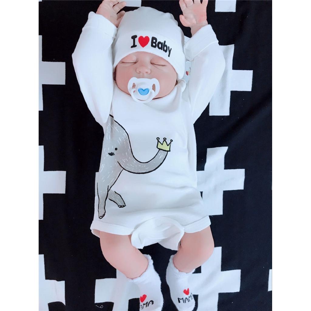 Bayi Lengan Panjang Kentut Pakaian Bayi Pakaian Segitiga Bayi Haricot Musim Semi Dan Gugur E Piece
