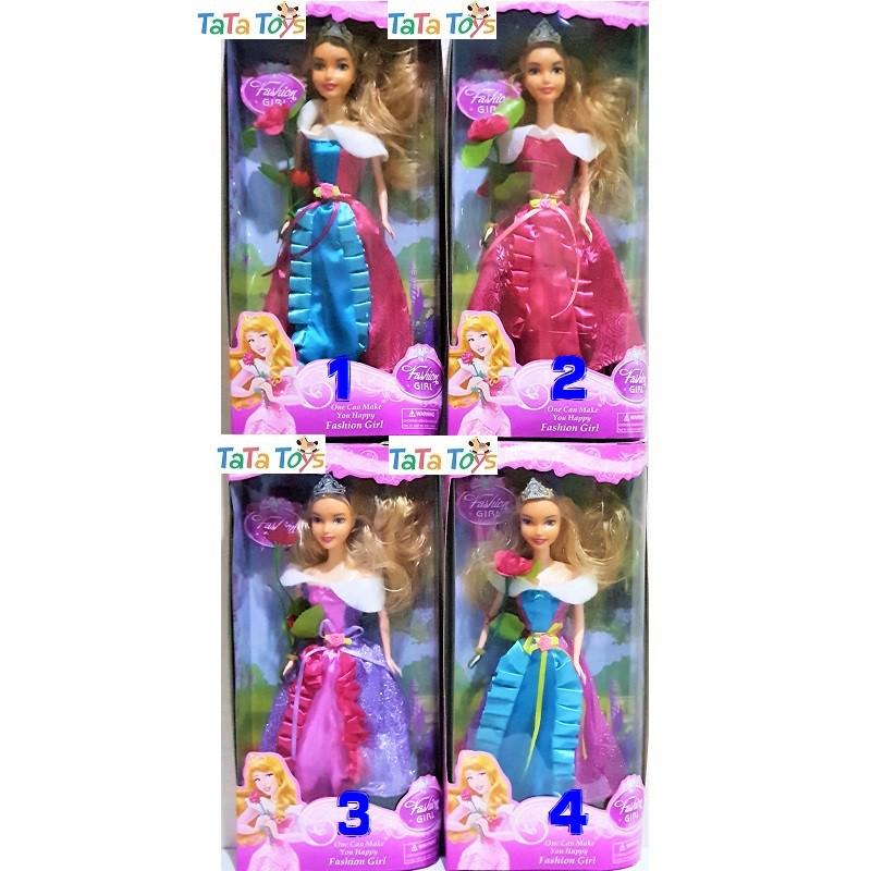 Boneka Disney Princess Aurora Mainan Barbie Putri Aurora 8572 Shopee Indonesia