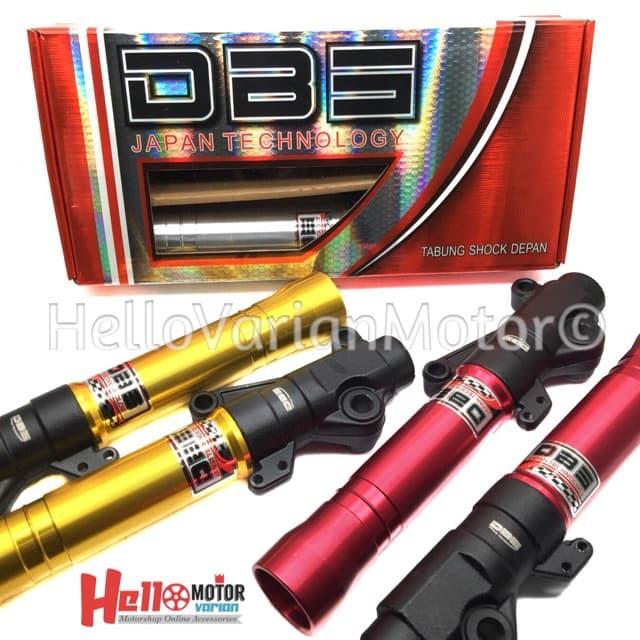 Grosir Bottom Tabung Sok Shock Depan Cnc Scarlet Supra X 125 Hitam Stok Terbatas | Shopee