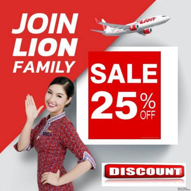 Promo Tiket Pesawat Lion Air Domestik Internasional Diskon 25 Shopee Indonesia