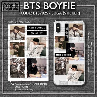Stiker Bts Boyfie Kpop Foto Casing Hp Tablet Laptop Buku Diy Photo Sticker Tumblr Nama Aesthetic Shopee Indonesia