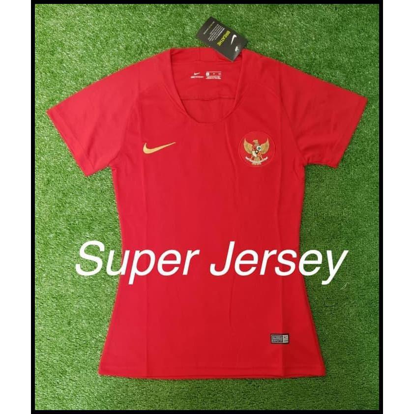 ce905f284 READY HOT PROMO JERSEY WANITA TIMNAS INDONESIA HOME GRADE ORI KAOS BOLA  LADIES CUP!