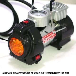 Kompresor Pompa Ban Mini DC 12 Volt Kenmaster 150 PSi