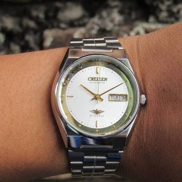 Jam Tangan Pria Citizen Automatic 21 Jewels Vintage