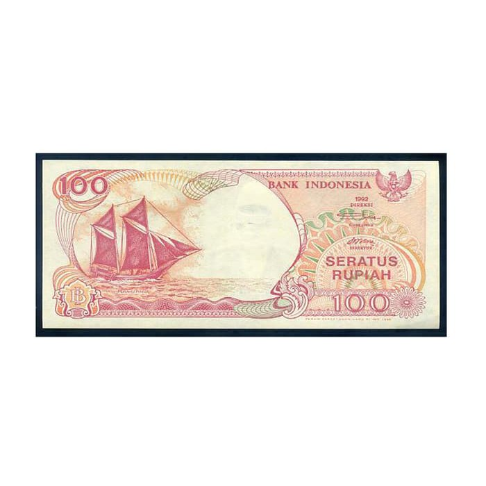 uang lama / uang kuno 100 rupiah