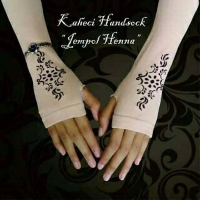 Handsock Henna Shopee Indonesia