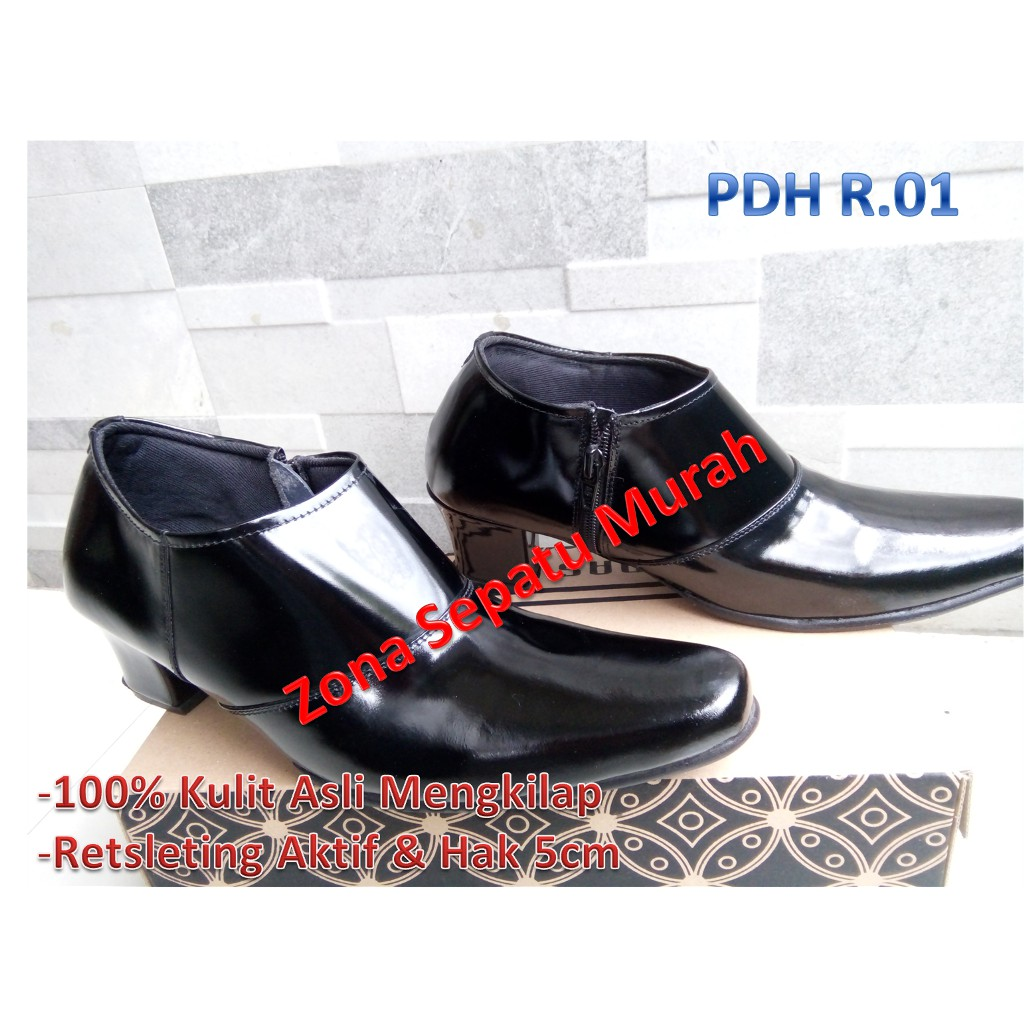 Pdl Kobra Mil Standar Tnipolri Security Best Seller Nasional Sepatu Pkd Atau Provos Jahit Shopee Indonesia