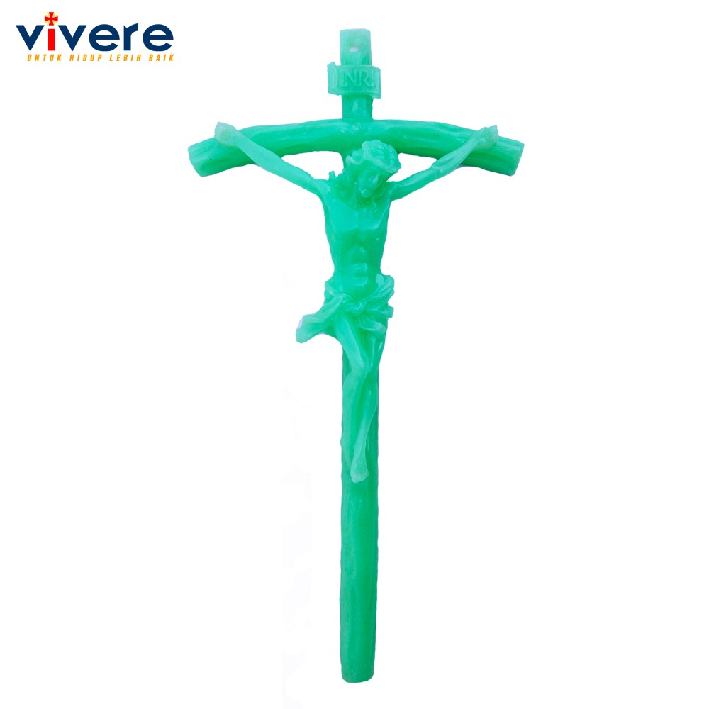 Salib Yesus Motif Anggur 31 cm Fosfor (Glow in the Dark) | Shopee Indonesia