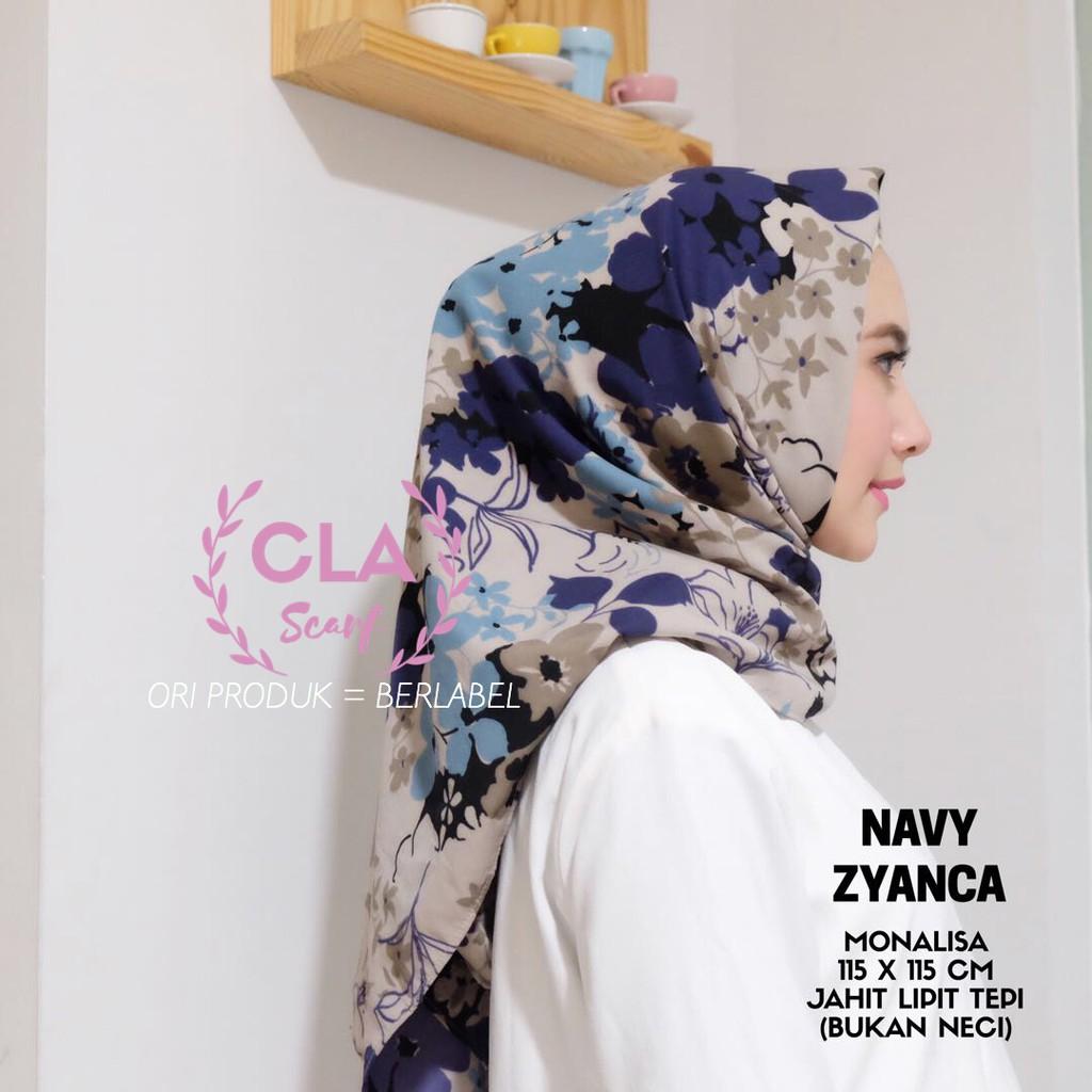 Zyanca By Cla Hijab Shopee Indonesia Atasan Jumbo Shizuka Cr045
