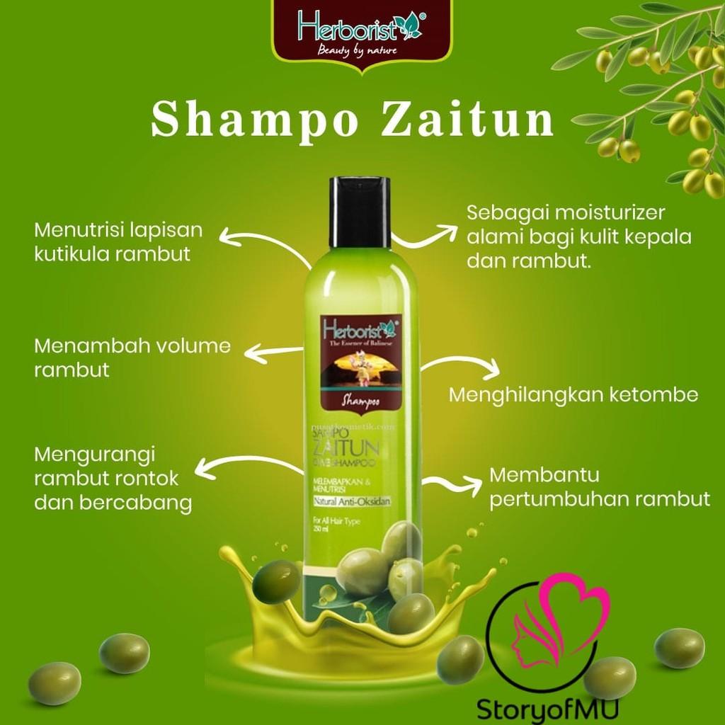 [BPOM] HERBORIST Zaitun Series - Body Wash / Shampoo / Lotion / Sabun Wajah / Minyak 75ml / 150ml-1
