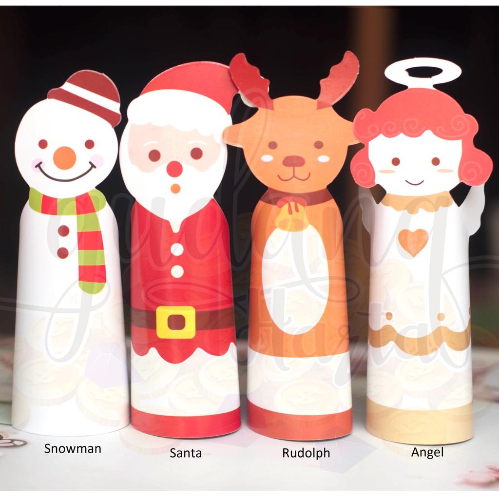 Kartu Ucapan Natal Merry Christmas Lucu Unik Bisa Berdiri GH