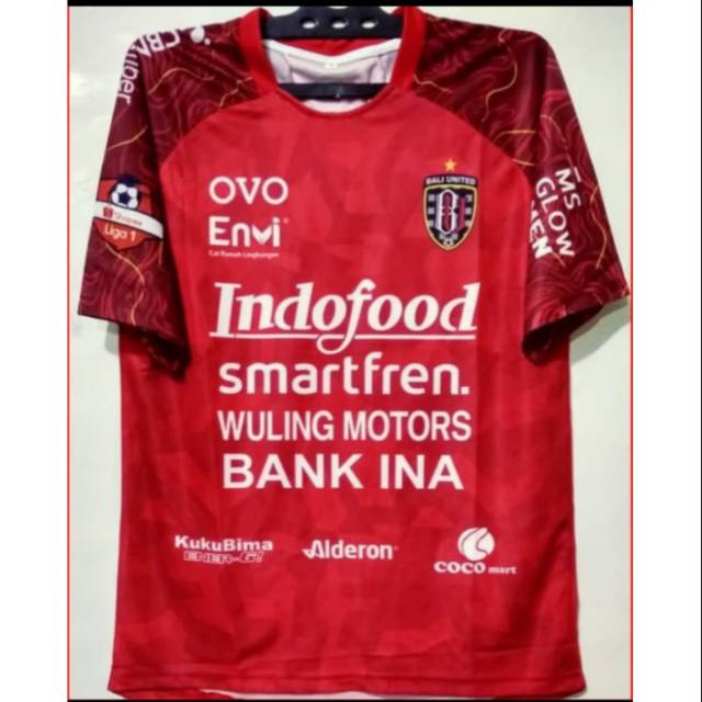 Jersey Bali United Home 2020 Baju Bola Bali United Musim Baru Jersey Bali  United Printing | Shopee Indonesia