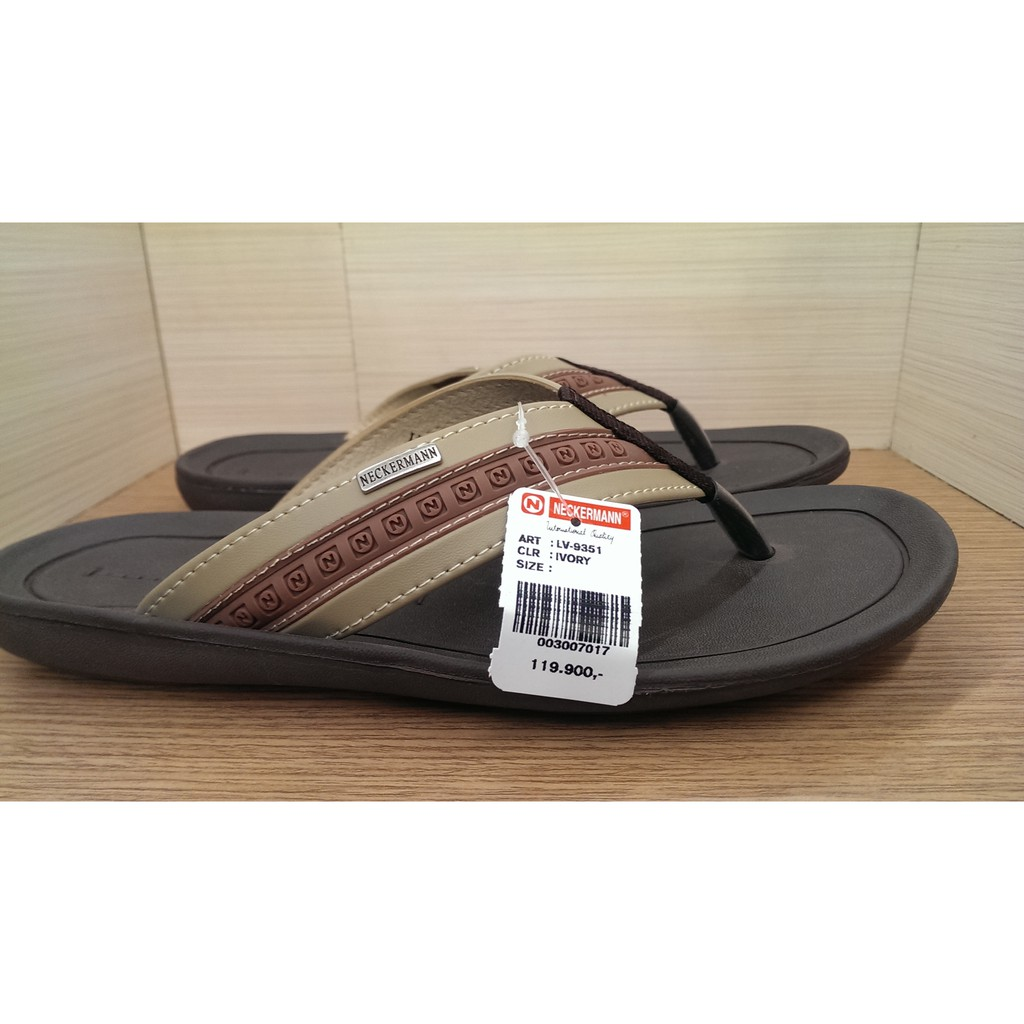Sandal Neckermann Lv 9351 Shopee Indonesia Dr Kevin Men Sandals 97211 Black Hitam 42
