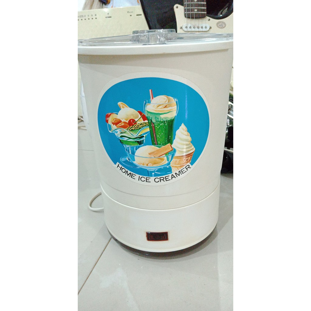 Jualan Ice Cream Maker Gea 1530 Mesin Pembuat Es Krim Terlaris Alat Eskrim Kenwood Im280 Shopee Indonesia