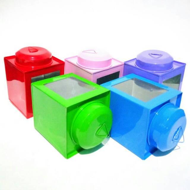 Kaleng Kerupuk Mini Ukuran 9 x 12 cm .