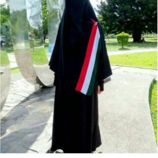 Gamis palestina set segiempat palestin palestine jilbab hijab krudung syari  busana muslim fashion  6b684db353