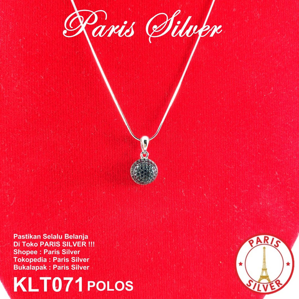 Kalung Cassandra Silver Perak 925 Necklace Korea Gold Wanita Pria Dolphin Stainless Steel 316l 004 Halus Kilap Shopee Indonesia
