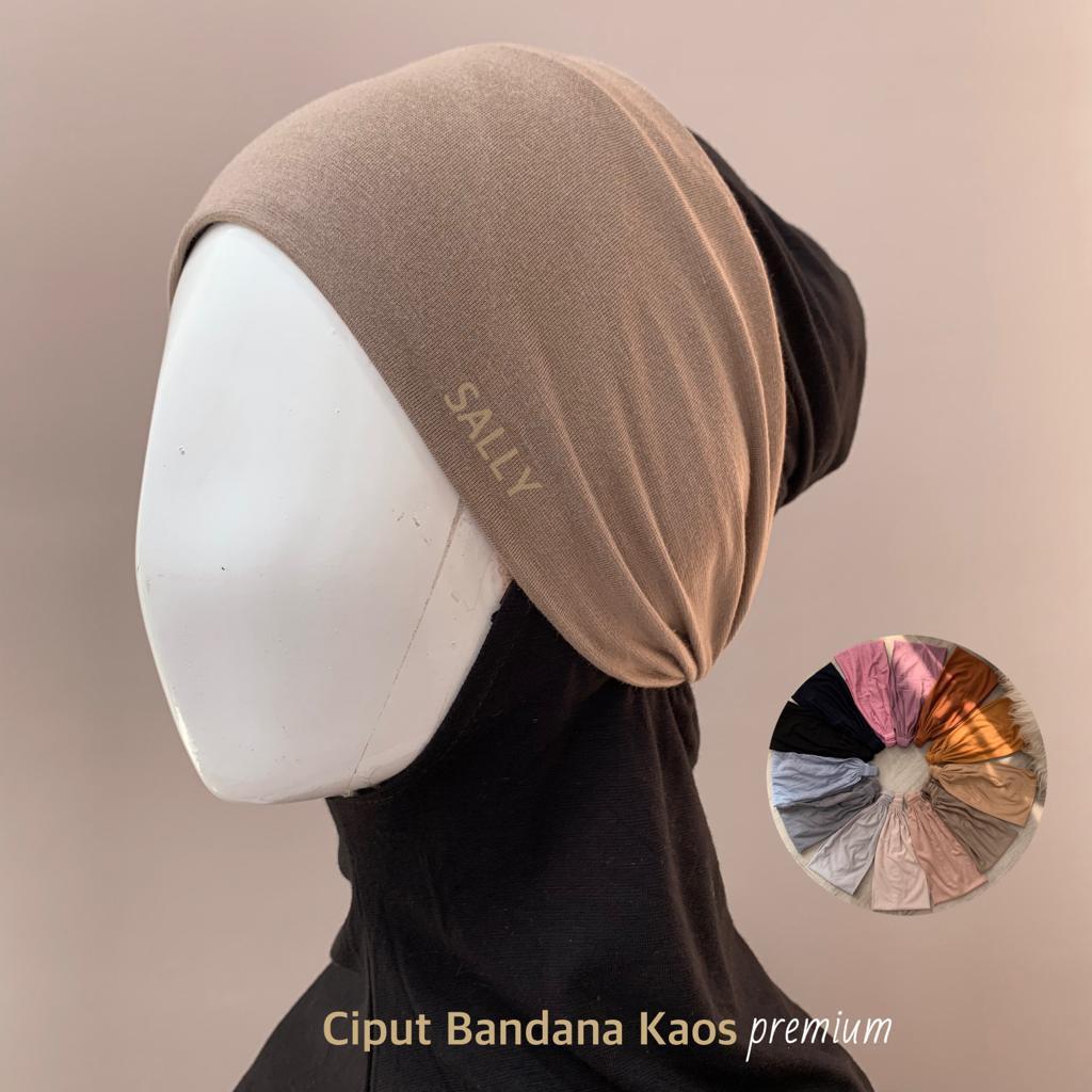 Star+Ciput Bandana Kaos Basic Premium