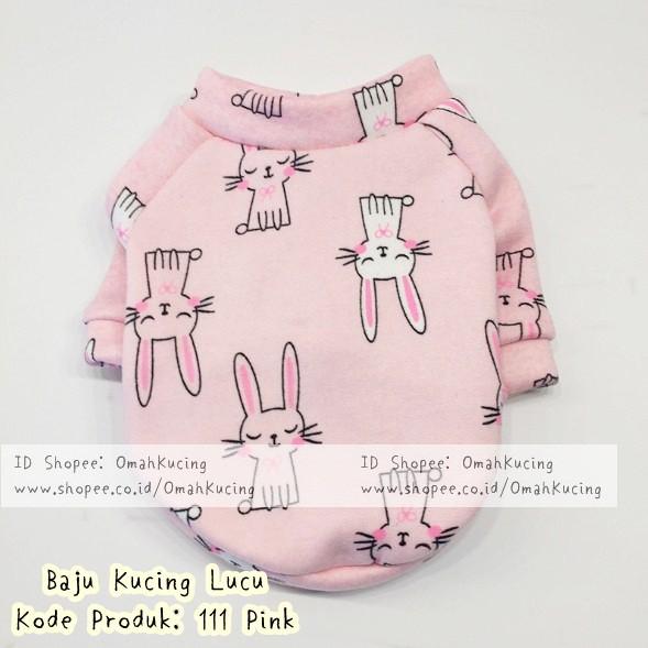 Kostum Kucing Lucu Baju Kucing Lucu Baju Kucing Jantan Baju Kucing Betina Perempuan 111 Pink Shopee Indonesia