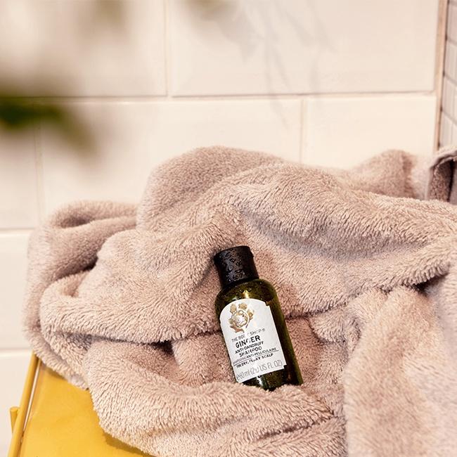The Body Shop Shampoo Ginger 60Ml Ax  (Anti-Dandruff)-2
