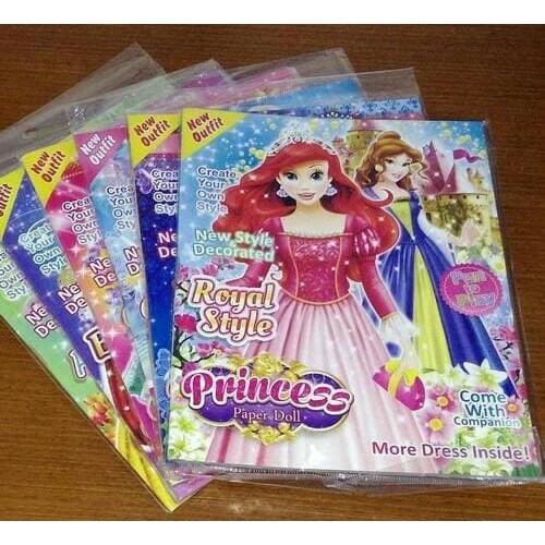 Terlaris Buku Bongkar Pasang Barbie Dress Up Mainan Jadul Bongkar Pasang Original Lucu Shopee Indonesia