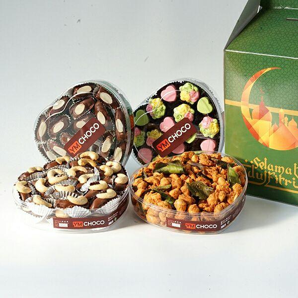 YMChoco Paket Coklat Bar - I Love Surabaya - 6pcs.
