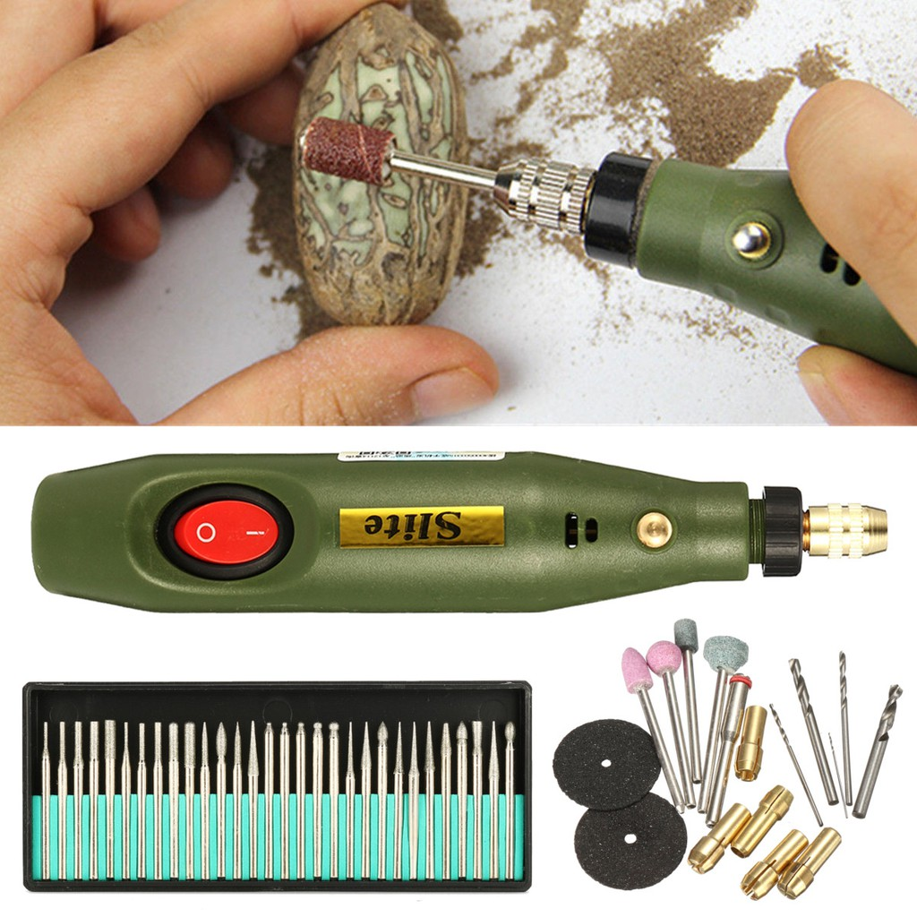 Electric Mini Grinder Carving Machine for Metal Wood Glass Engraving Pen Tool RA