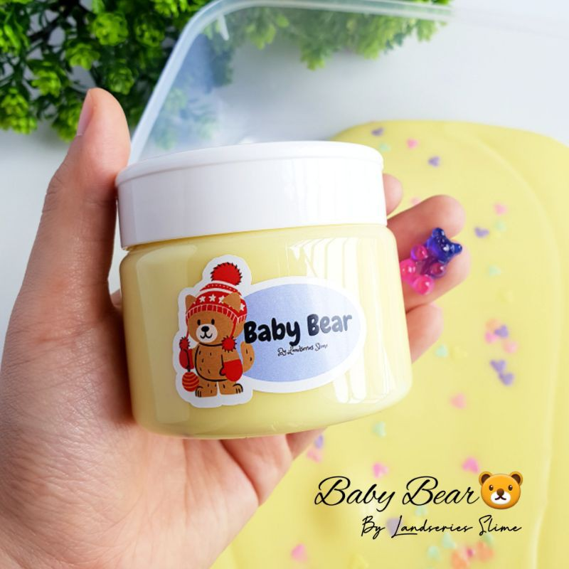 200ml Baby Bear | Original Slime by Landseries Slime