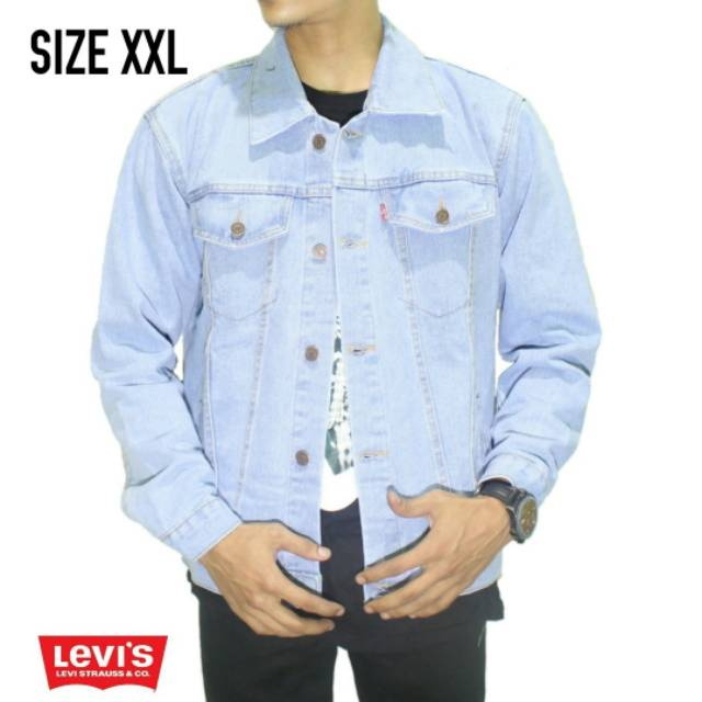 Jaket jeans levis biru pudar jaket levis biru pudar jaket levis keren jaket  murah  10f28ac4fe