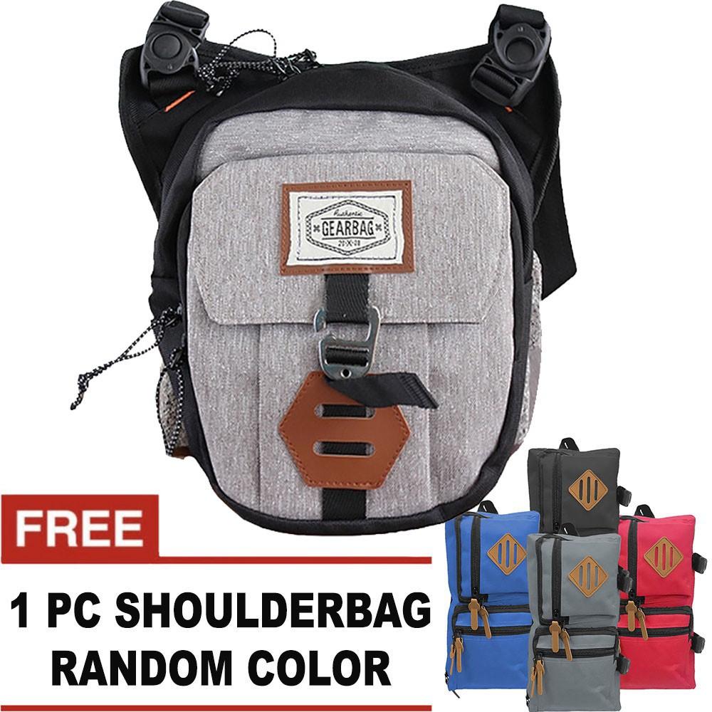Bag & Stuff - [BUNDLE MINI POUCH] A-KALIBER Shoulder Bag + FREE