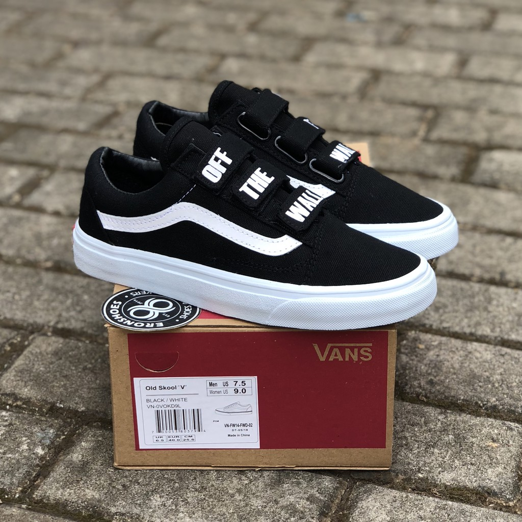 a81e9bd531fad 100% PREMIUM BNIB Sepatu Vans Oldskool Old Skool Motif PATTA MEAN EYED CAT  Off Full White Putih | Shopee Indonesia