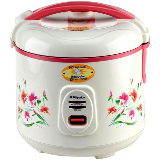 MIYAKO RICE COOKER MAGIC COM MCM-606A 0,6 Liter Penanak Nasi Mini Kecil | Shopee Indonesia