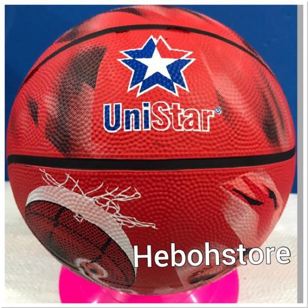 Ready stock bola basket outdoor❥ BOLA BASKET UNISTAR ANAK SIZE 5 BolaBasketTermurah