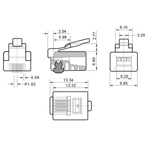 6p2c Rj11 Wiring Diagram